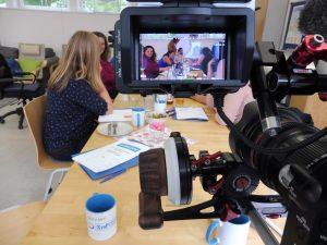 Dreharbeiten FrauTV